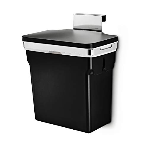 simplehuman 10 Liter / 2.6 Gallon In-Cabinet Trash Can...