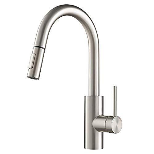 Kraus KPF-2620SFS Oletto Kitchen Faucet, 16 Inch, Spot Free...
