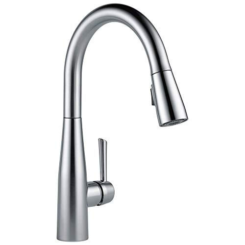DELTA Essa Pull Down Kitchen Faucet with Pull Down Sprayer,...