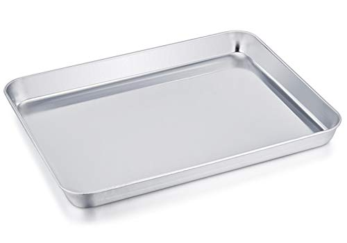 TeamFar Stainless Steel Compact Toaster Oven Pan Tray...