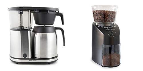 Bonavita Connoisseur One-Touch Coffee Brewer + Capresso...