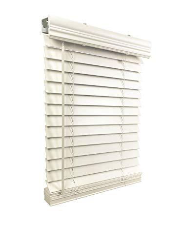 US Window And Floor 2' Faux Wood 26.5' W x 36' H, Inside...