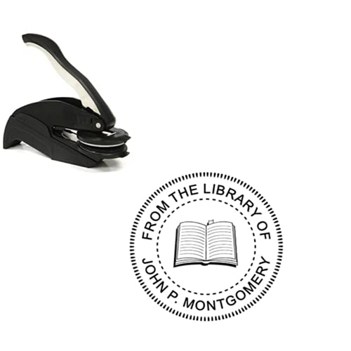 From The Library of Embosser - Open Book Embosser - Custom...