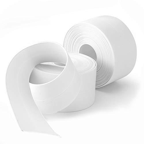 SENKEI Caulk Strip, 2 Pack 1.5' x 10.5Ft Caulk Strip for...