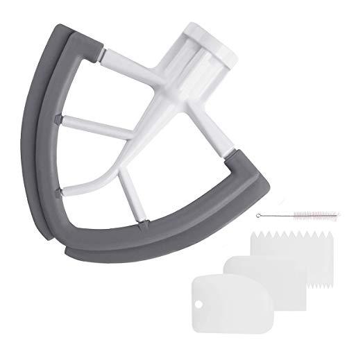 Flex Edge Beater for KitchenAid Mixer, 4.5-5 Quart Flat...