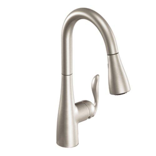 Moen 7594SRS Arbor One-Handle Pulldown Kitchen Faucet...
