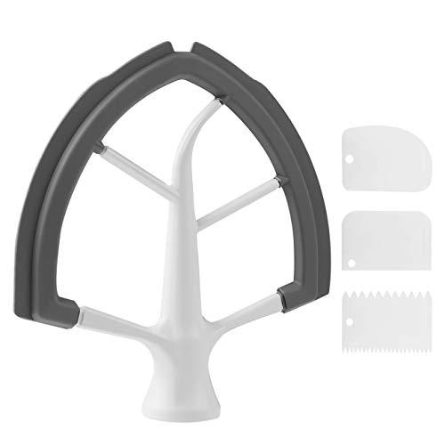 6 QT Flex Edge Beater Attachment for KitchenAid Bowl-Lift...