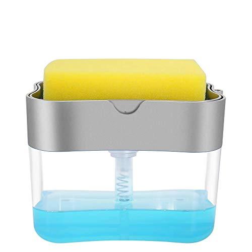 Aeakey Soap Dispenser,Dish Soap Dispenser for Kitchen,Sponge...