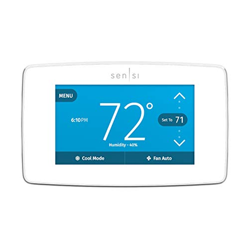 Emerson Sensi Touch Wi-Fi Smart Thermostat with Touchscreen...