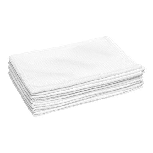 Microfiber Waffle Weave Kitchen and Dish Drying Towels | 16...