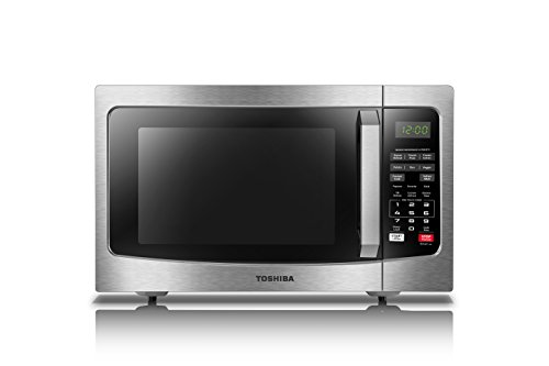 Toshiba EM131A5C-SS Microwave Oven with Smart Sensor, Easy...