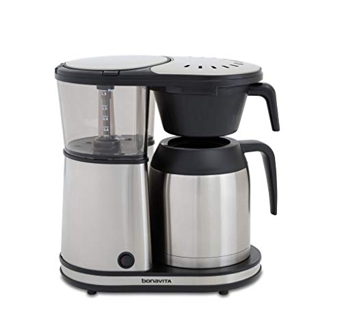 Bonavita Connoisseur 8-Cup One-Touch Coffee Maker Featuring...
