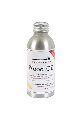 Earlywood 4.5 oz. Lemon Mineral Oil for Cutting Boards and...