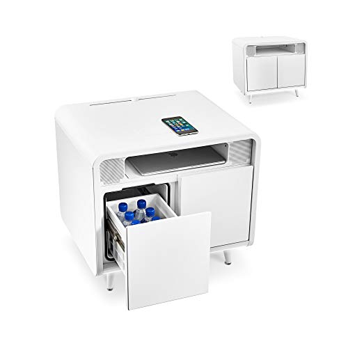 SOBRO Smart Side/Nightstand Table - with Cooling Drawer,...