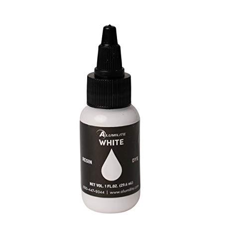 White Opaque Alumilite Liquid Dye - Art Resin for Coloring...