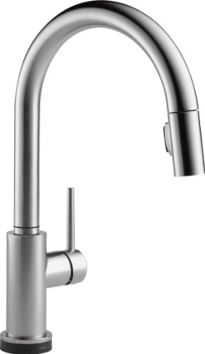 DELTA Trinsic Single-Handle Touch Kitchen Sink Faucet with...