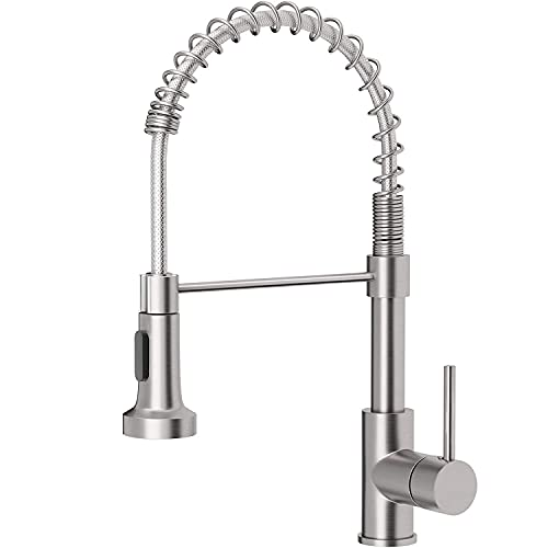 OWOFAN Kitchen Faucets Low Lead Commercial Solid Brass...