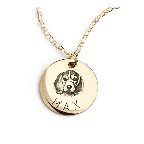 MignonandMignon Personalized Pet Gifts Custom Pet Jewelry...