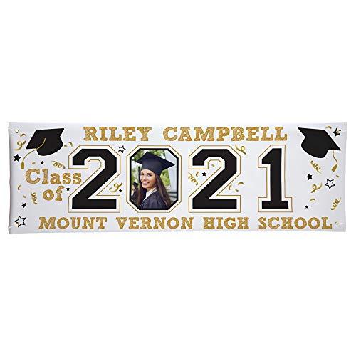 Let's Make Memories Personalized Graduation Banner- Class...