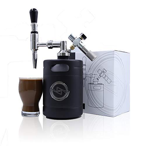 SHAHRIA 64oz Brew Nitro Cold Brew Coffee Maker - Premium...