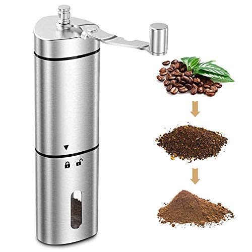 Manual Coffee Grinder with Ceramic Grinding Core, Hand...