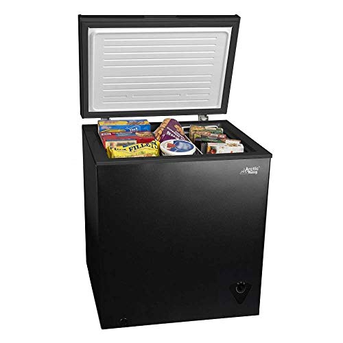 5 cu ft Chest Freezer for Your House, Garage, Basement,...