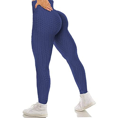 RICH BRIA High Waisted Butt Lift Textured Leggings for Women...