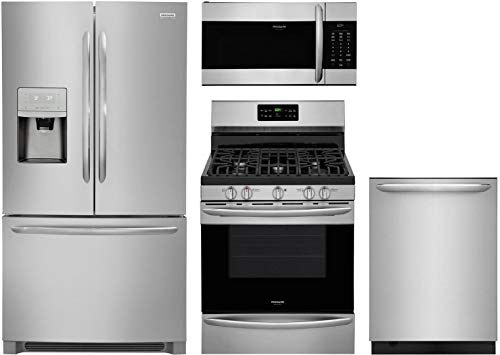 Frigidaire 4 Piece Kitchen Appliance Package with FGHB2868TF...