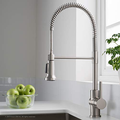Kraus KPF-1690SFS Britt Pre-Rinse/Commercial Kitchen Faucet...