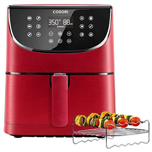 COSORI (100 Recipes, Rack & 4 Skewers) 1500W Electric Hot...