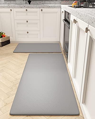 SHANJE Kitchen Mat Set of 2 [23.5'x33.5'+23.5'x59'] Ultra...