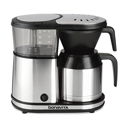 Bonavita 5-Cup One-Touch Thermal Carafe Coffee Brewer,...
