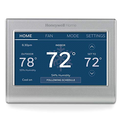 Honeywell Home RTH9585WF1004 Wi-Fi Smart Color Thermostat, 7...