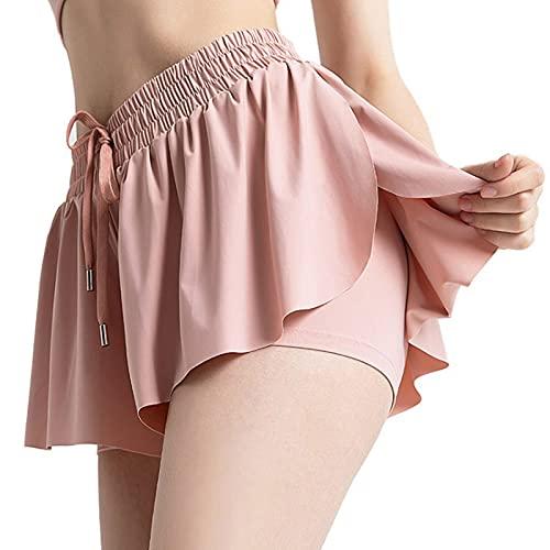 Butterfly Shorts Tiktok, Skirt Shorts Tiktok, 2 in 1 Flowy...