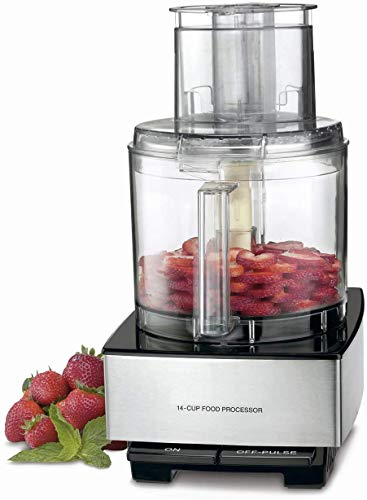 DFP-14BCNY 14-Cup Food Processor, Brushed Stainless Steel -...