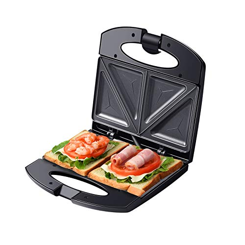 Auertech Sandwich Maker, 800W Toaster and Electric Panini...