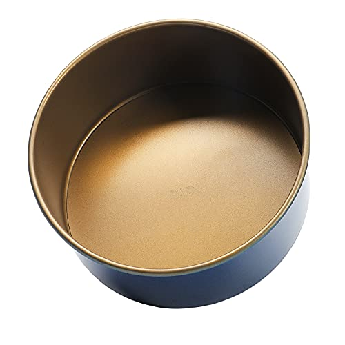 Round Cake Pan with Removable Bottom, 8 Inch Nonstick Baking...