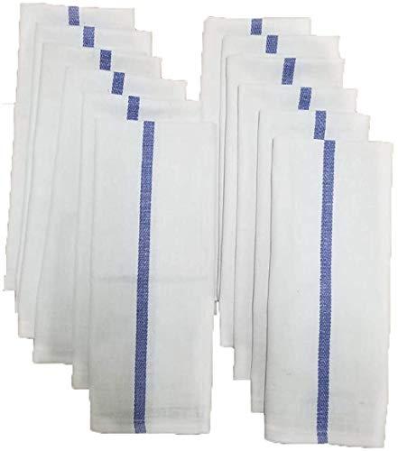 BEST TOWEL - Kitchen Towels - 12 Pack, 100% Natural Cotton...