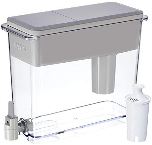 Brita Standard UltraMax Water Filter Dispenser, Gray, Extra...