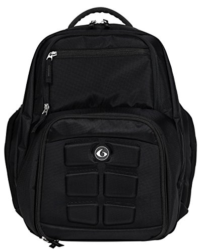 6 Pack Fitness Expedition Backpack W/Removable Meal Prep...