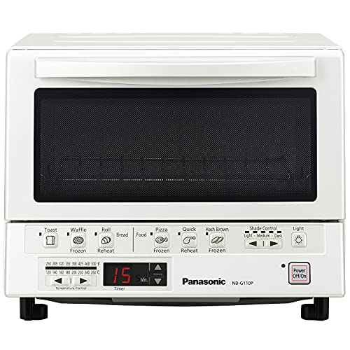 Panasonic FlashXpress Compact Toaster Oven with Double...