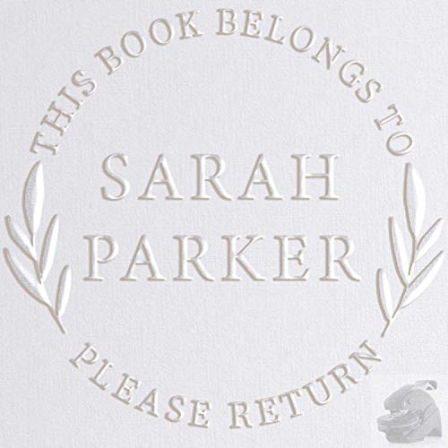 Personalized Library Book Embosser Stamp Custom from The...