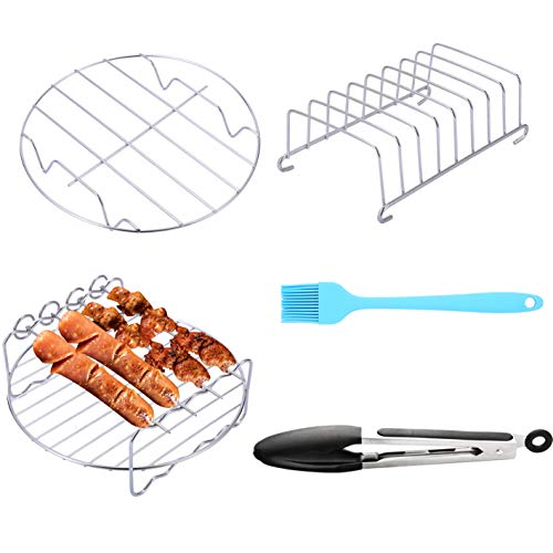 SIK Air Fryer Accessories 5PCS for GoWISE COSORI Philips...