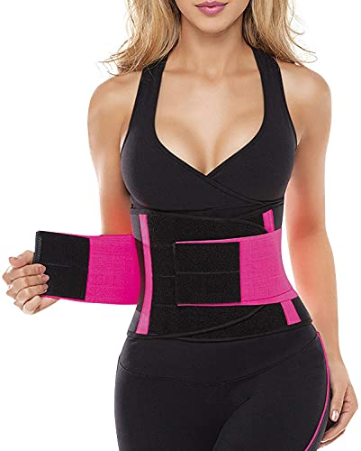 SHAPERX Women Waist Trainer Belt Waist Trimmer Belly Band...