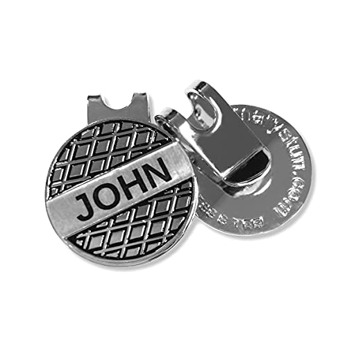 Personalized Golf Ball Marker with STAINLESS STEEL Magnetic...