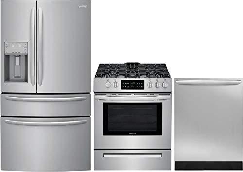 Frigidaire 3 Piece Kitchen Appliance Package with FG4H2272UF...