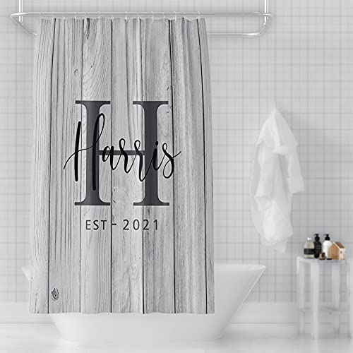 UnderTheRose Shower Curtain Personalized Waterproof Fabric...