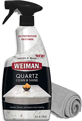 Weiman Quartz Countertop Cleaner and Polish - 24 Ounce with...