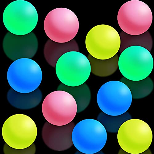 Sticky Wall Balls Ceiling Glow Balls Glow in The Dark Sticky...
