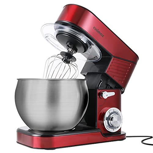 Stand Mixer, CUSIMAX 6.5QT Stainless Steel Dough Mixer...